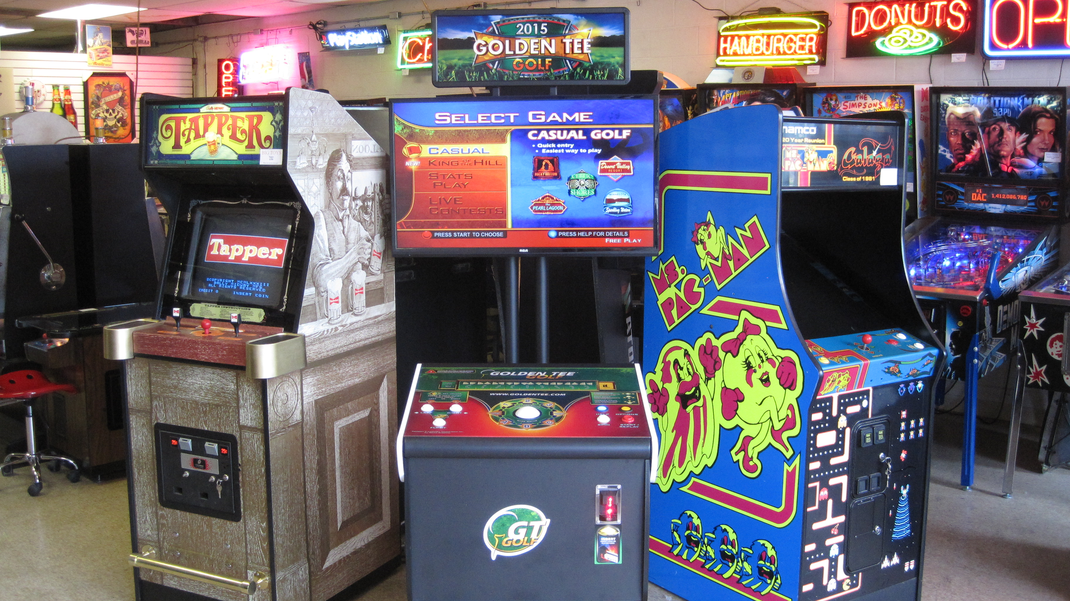 Toys For Games : Big toys arcade sales and service